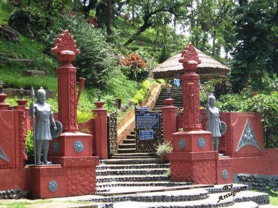 Da Parbatia Temple In Tezpur, Assam