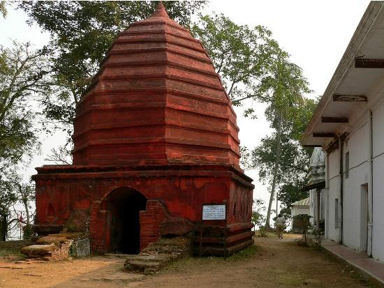 Umananda Temple In Peacock Island, Assam