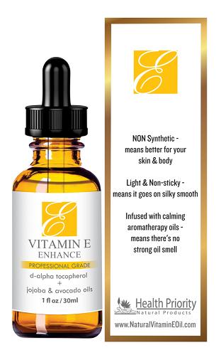 Health Priority Vitamin E Oil