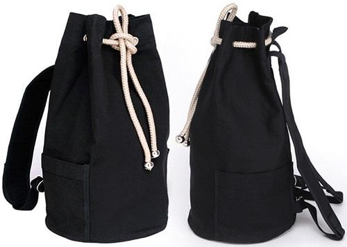 Bucket Style Duffle Bag for Men