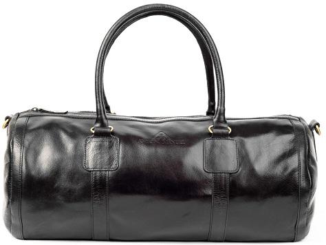 Black Capsule Vintage Duffle Bag for Men