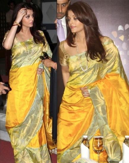 Chanderi gold