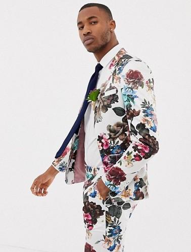 Floral Wedding Blazer