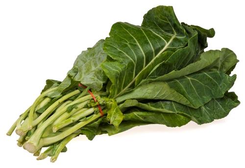food for first trimester - Collard-Greens