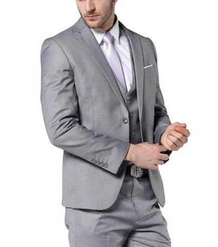 Grey Blazer For Wedding