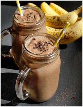 Chocolate Banana Nut Shake