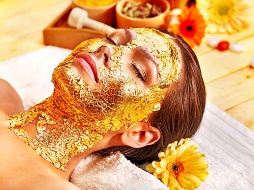 gold facial