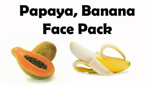 Papaya and Banana Fruit Mask