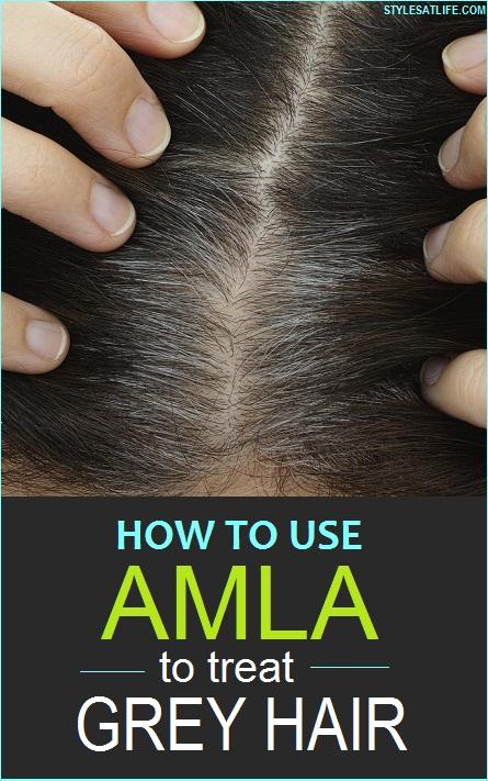 amla powder for grey hair