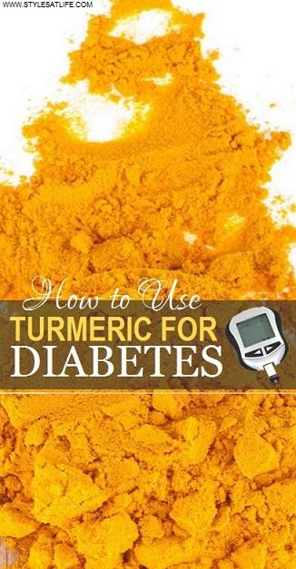 Turmeric for diabetes