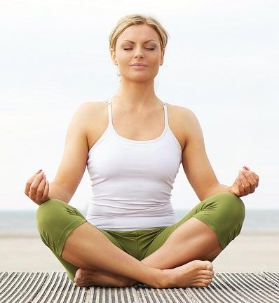 Anusara Yoga Asanas-easy pose