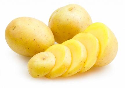 Potato Cures Pimples Overnight