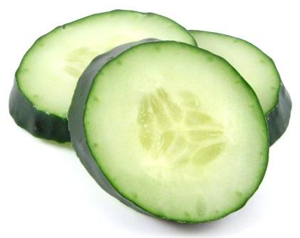 Cucumber for strech marks