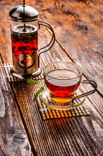 Black Tea for strech marks