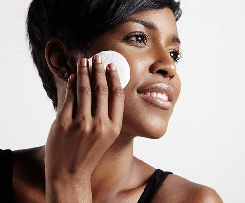 black skin cleansing process