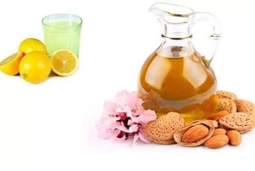 Almond Oil with Lemon