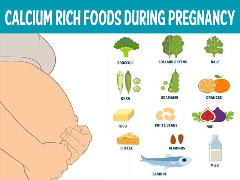 calcium rich food during pregnancy