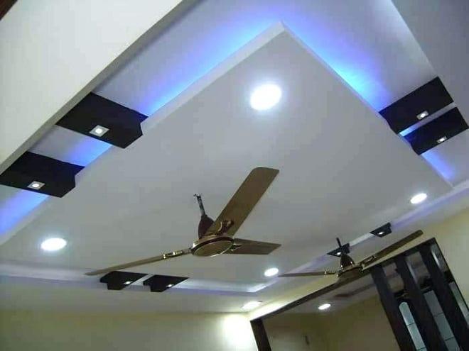 Gypsum Ceiling With Fan