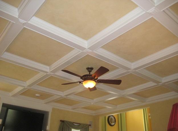Gypsum Ceiling Tiles Design