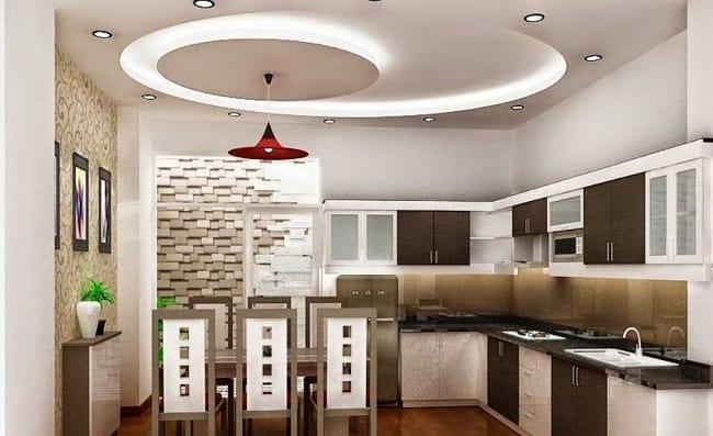 Kitchen Gypsum Ceiling Design