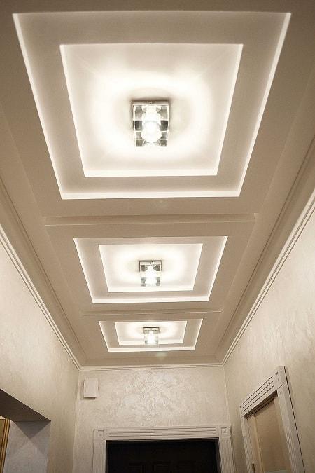 Corridor Gypsum Ceiling