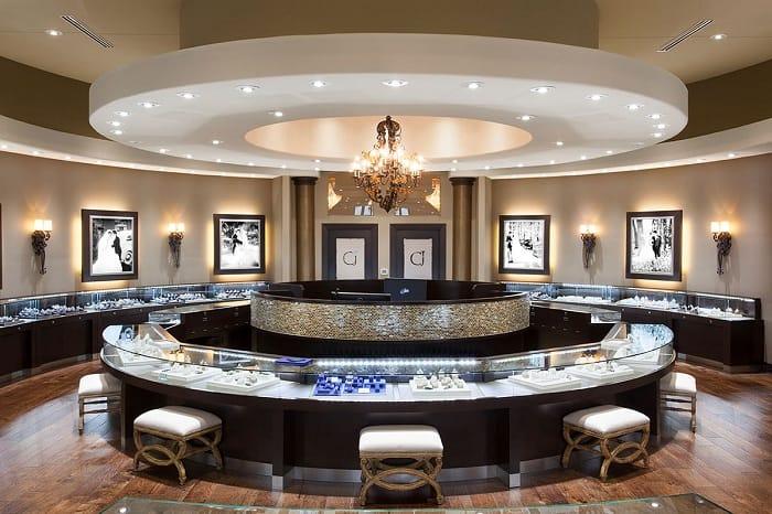 Gypsum Ceiling Design for Shop