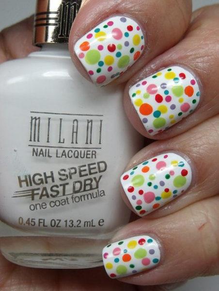 Splatter nails