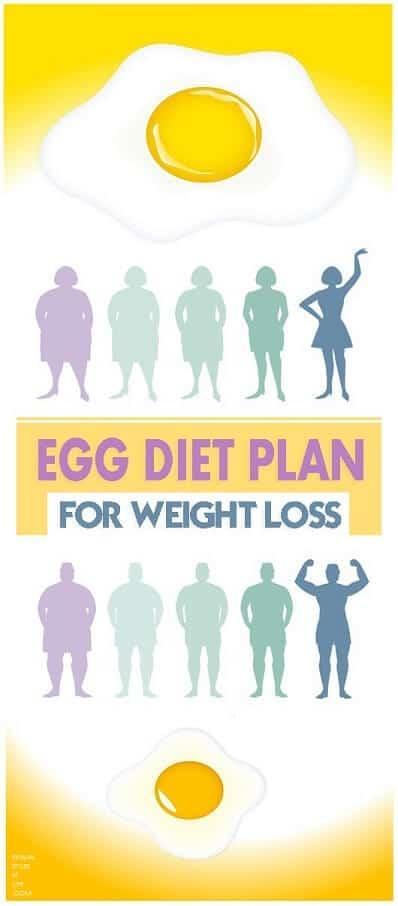 one week egg diet plan