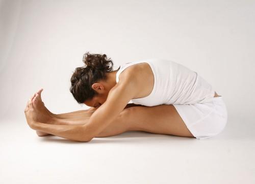 Paschimottanasana Yoga Seated Forward Bend