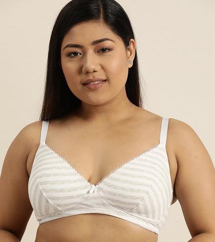 Plus Size Cotton Bra