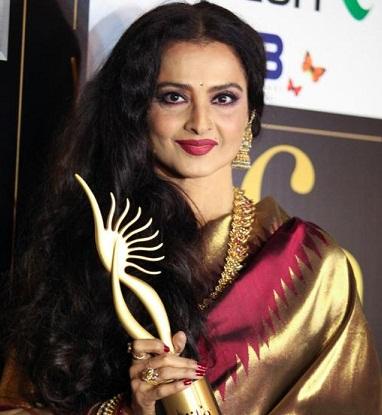 actress rekha diet secrets