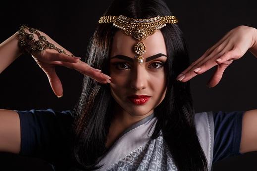 Arabian hairstyle