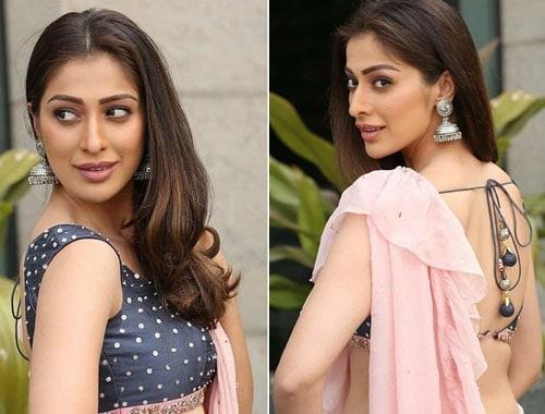 Saree Hairstyles for Medium Hair