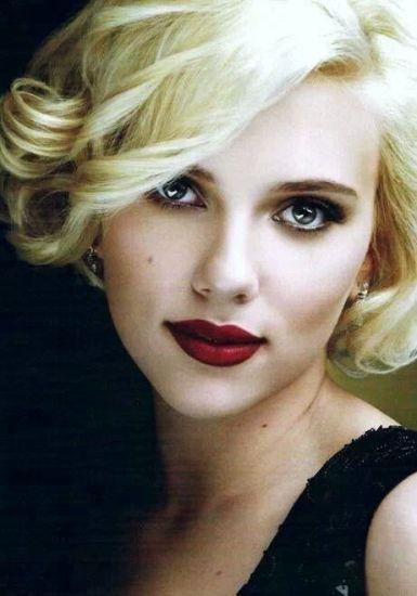 Scarlett Johanssons makeup