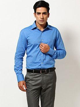 Formal Plain Full sleeve shirt