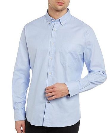 Plain Button Down Shirt