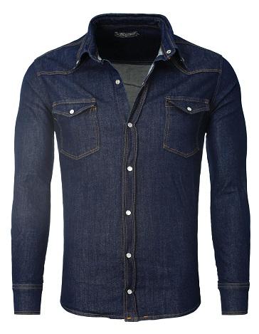Plain Jean Shirt