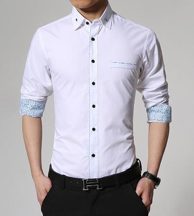Printed Cuff Shirt