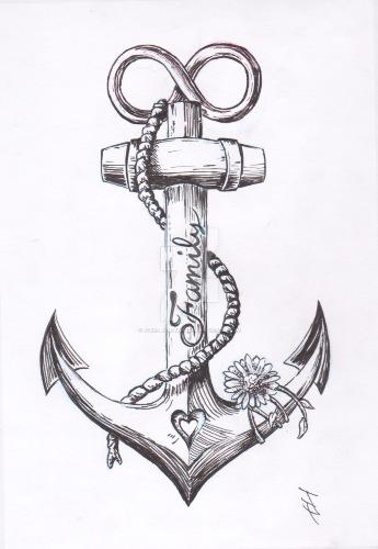 cute anchor tattoos