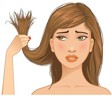 signs of hair loss