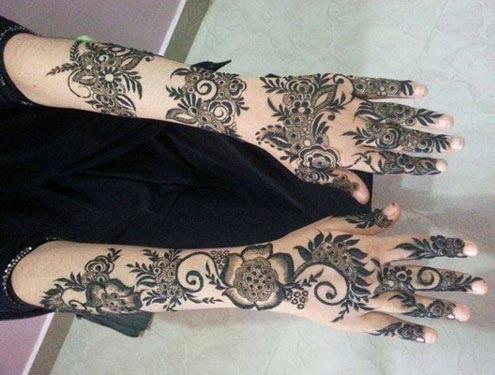 Top 10 Traditional Khaleeji Mehndi Designs