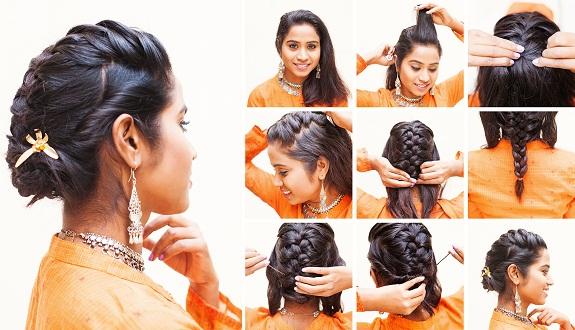 Indian Hairdo Hairstyle 11