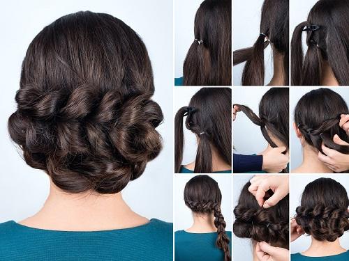 Indian Hairdo Hairstyle 12