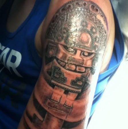 Aztec Traditional Tattoo Design