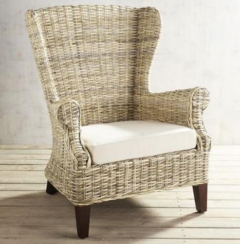 Handmade Rattan High Back Chairs