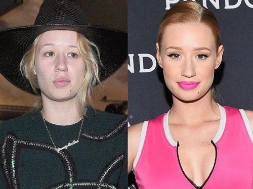 Iggy Azalea Without Makeup 1