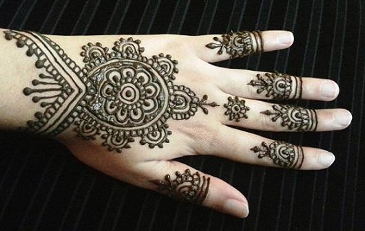 Quick Mehendi Designs-Simple Indian Designs