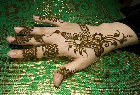 Quick Mehendi Designs-MoroccanStyle Mehendi Designs