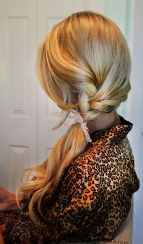 side ponytail7