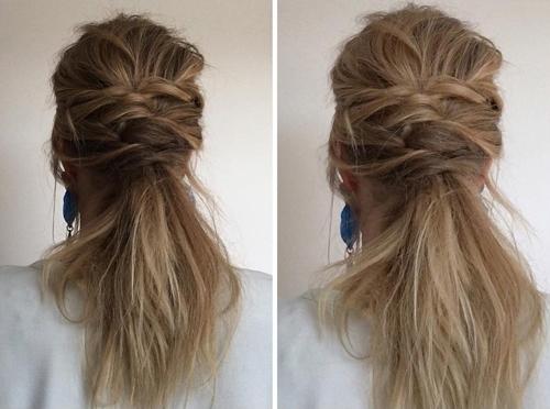 Twisted Hairdo
